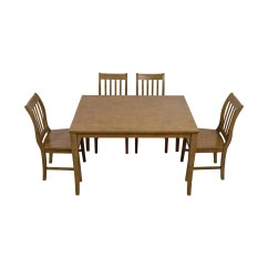 Kitchen Tables At Target Cabinets Doors 56 Off Brown Table Set