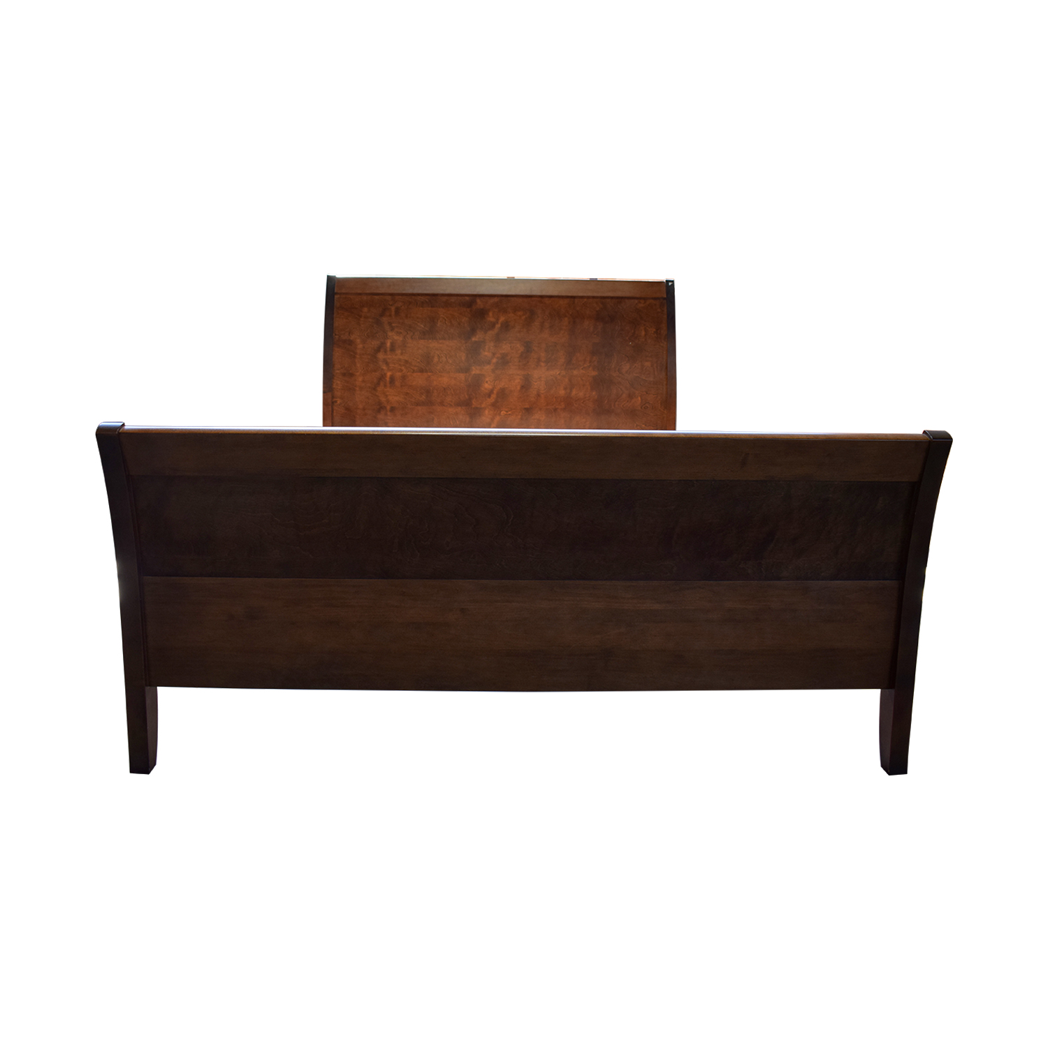 jensen lewis sleeper sofa price cb2 piazza reviews 90 off baronet java mahogany sleigh queen bed frame second hand