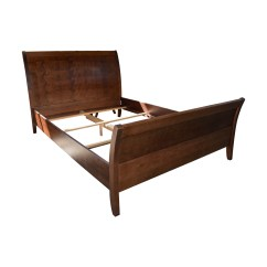 Jensen Lewis Sleeper Sofa Price Reclining Sets Leather 90 Off Baronet Java Mahogany Sleigh Queen Bed Frame Dimensions
