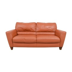 Macy S Orange Sectional Sofa 3 2 Seater Packages Leather Sale