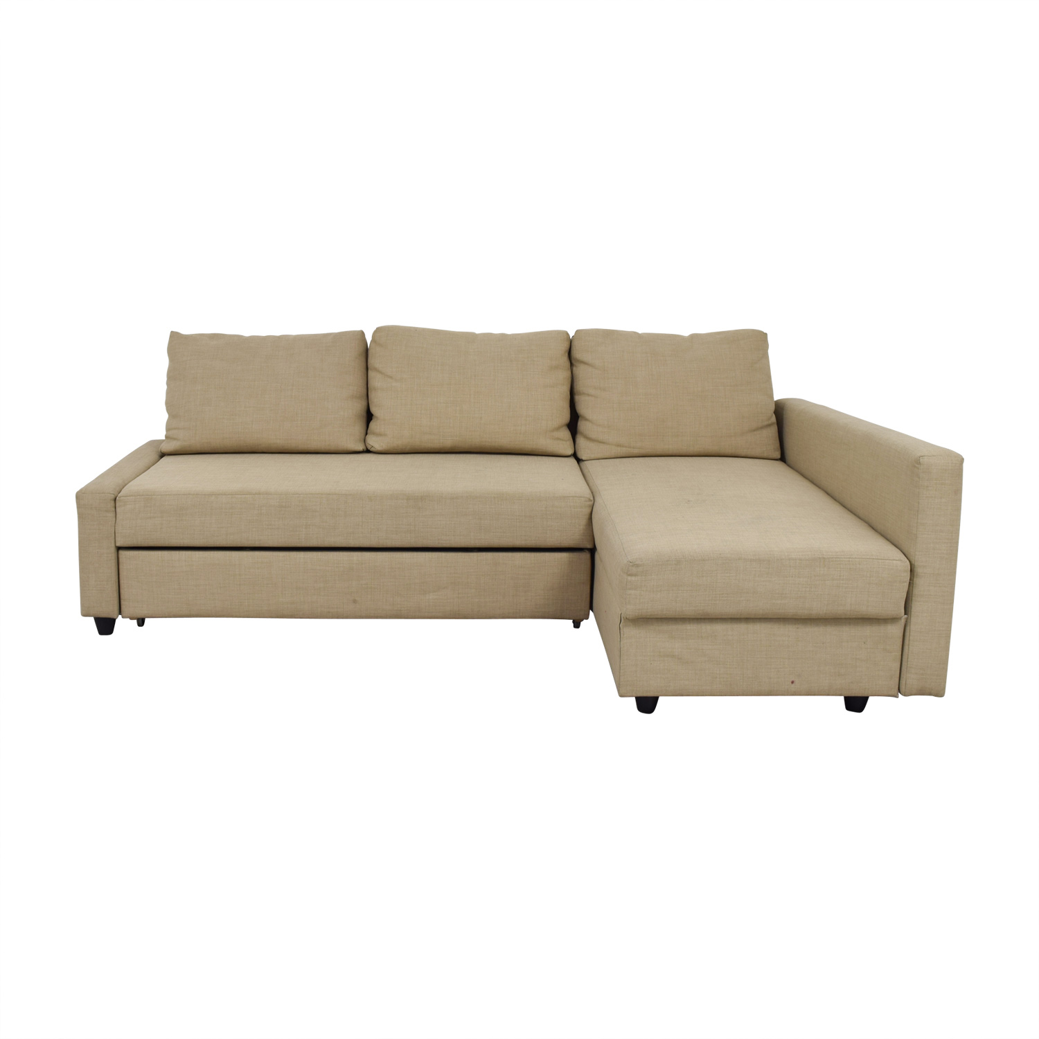 ikea sofa sleeper sectional costume 36 off friheten beige sofas on sale