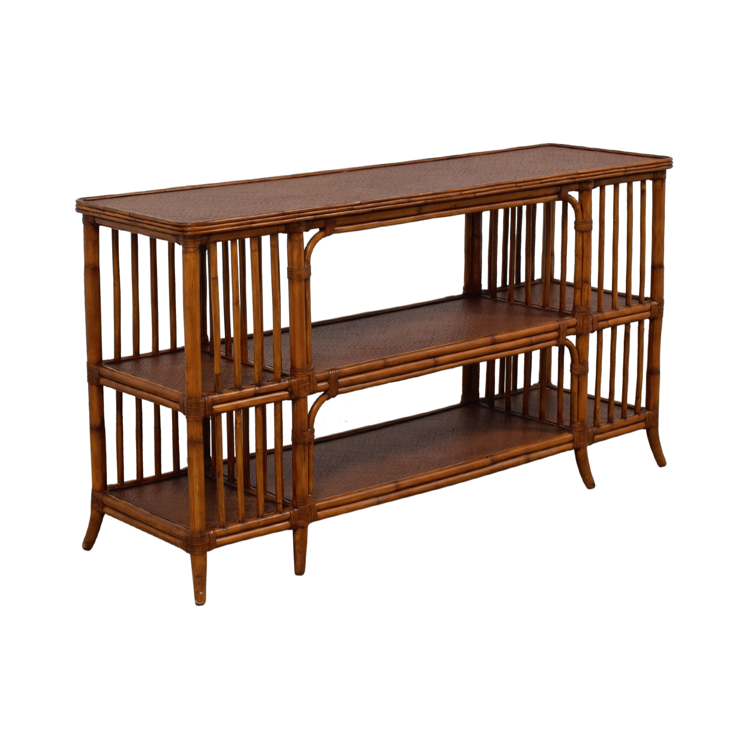 media sofa table ikea sofas review 77 off ethan allen rattan console