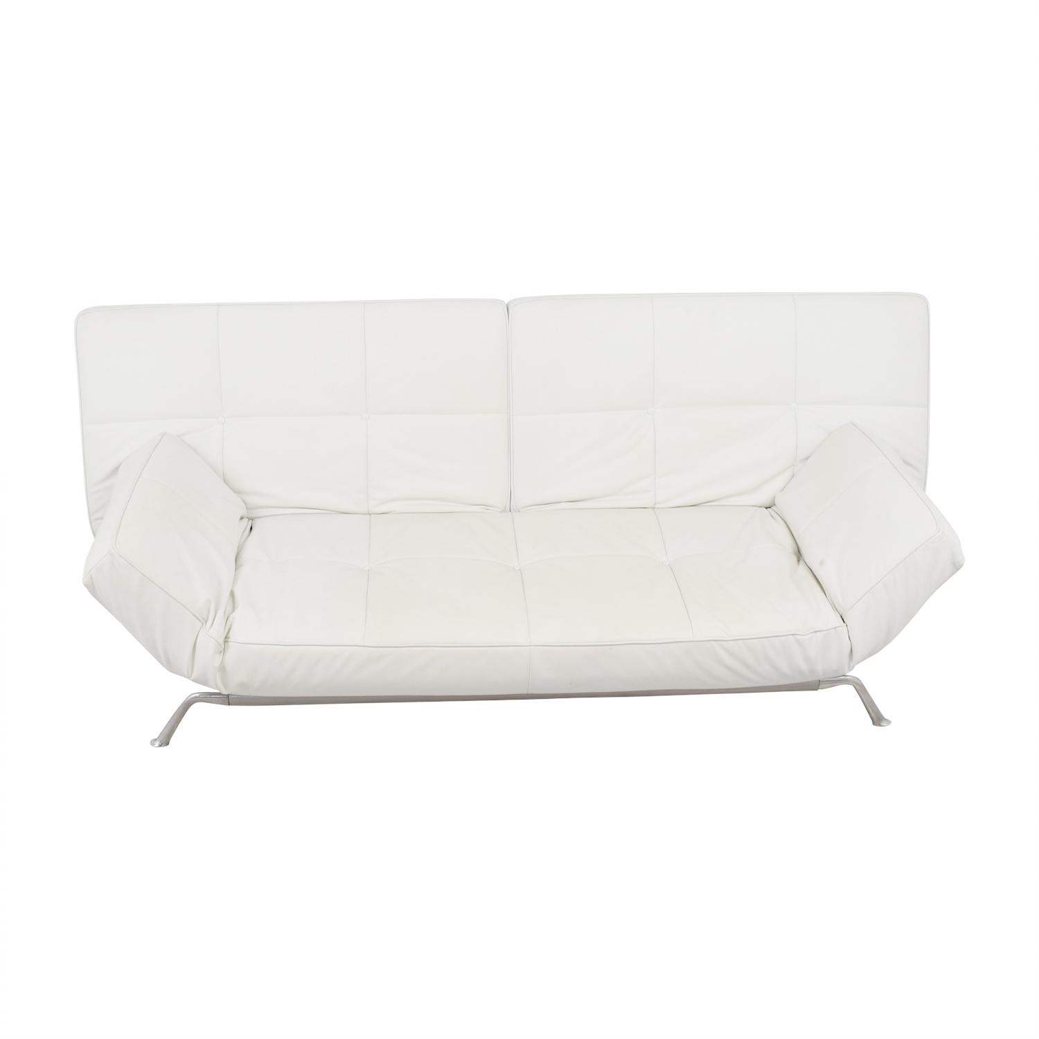 ligne roset sofa second hand goose down filled sofas 90 off white leather couch