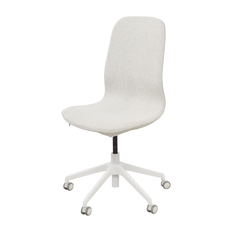 swivel chairs ikea aluminum dining chair 67 off langfjall