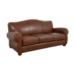 Thomasville Reclining Sofa Ashley Jakarta 70 Off Brown Leather Three
