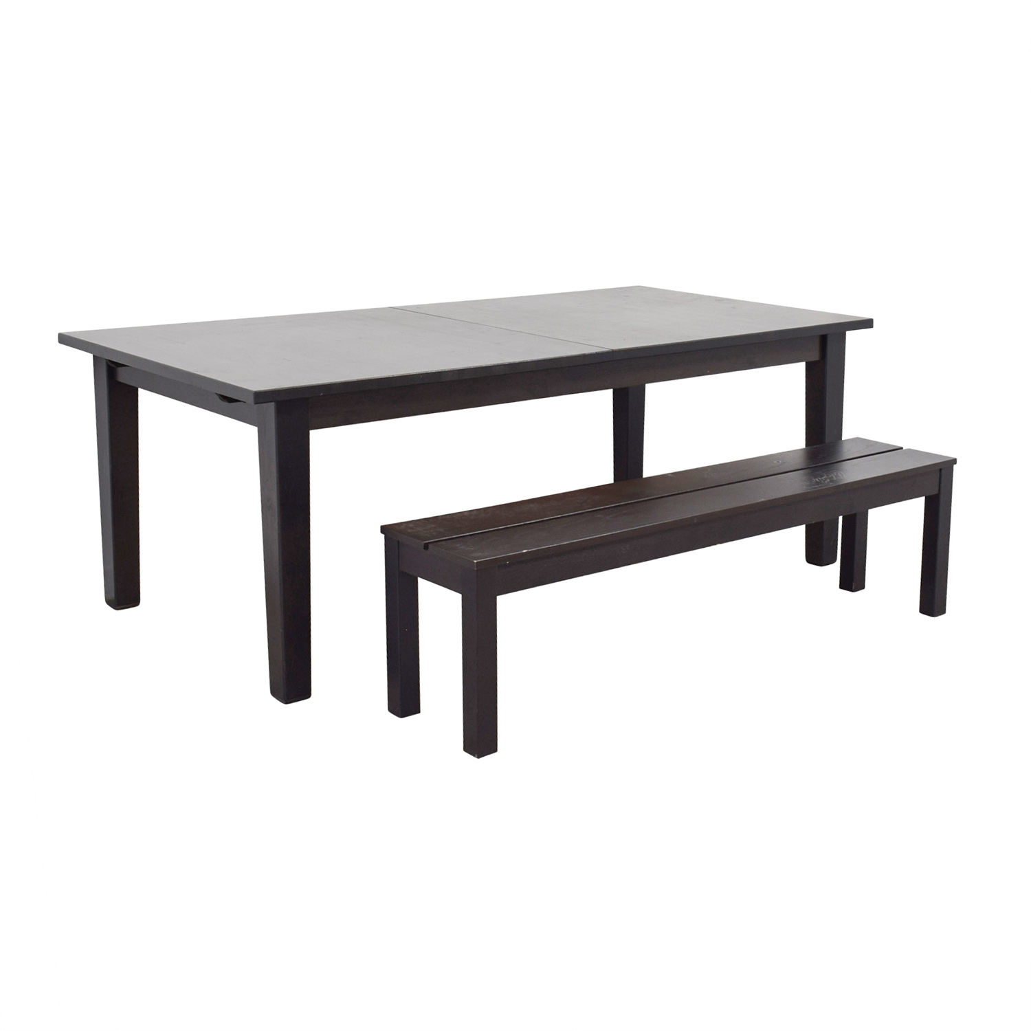 65 Off Ikea Extendable Dining Room Table With
