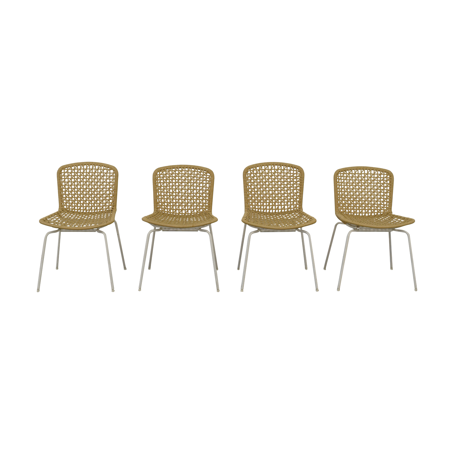 Pottery Barn Wicker Chair Dining Chairs Used Dining Chairs For Sale