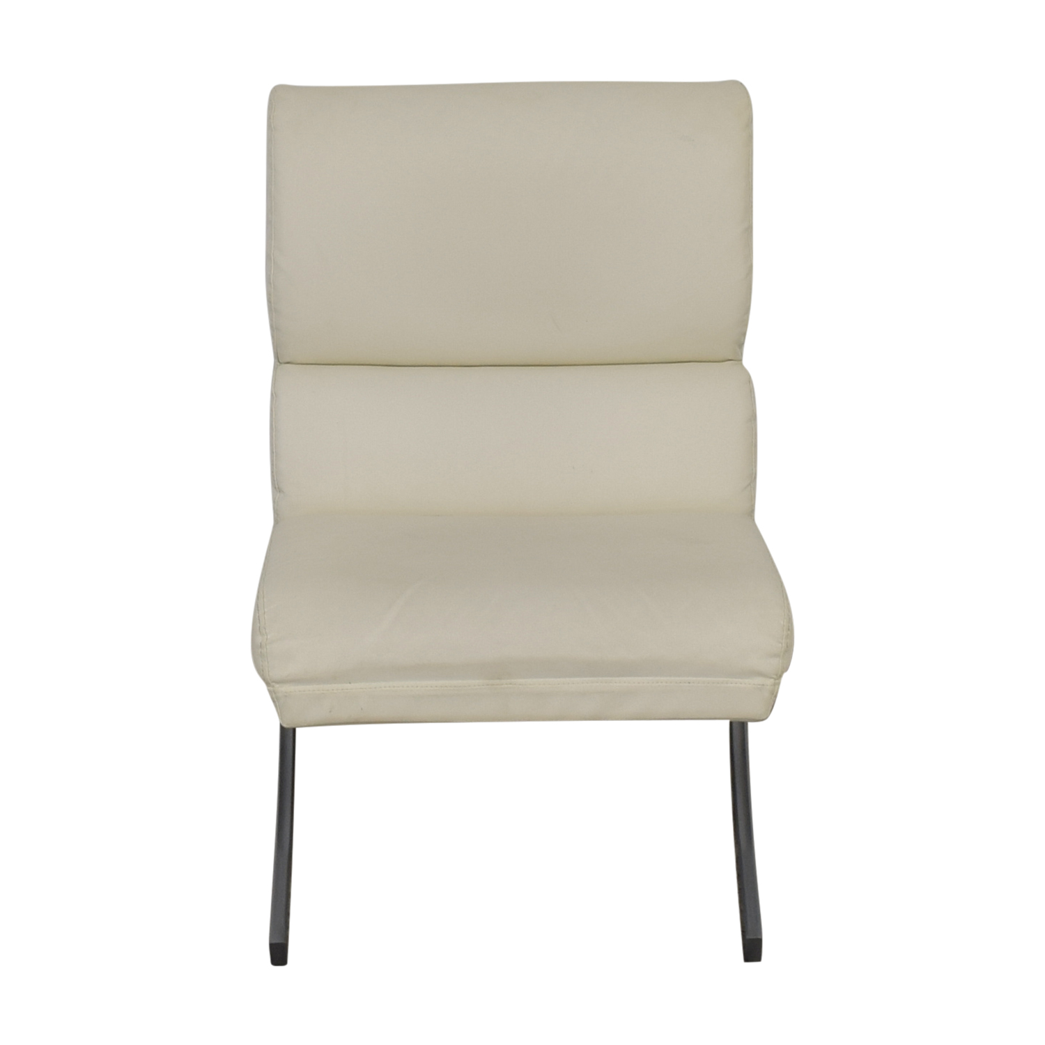 Off White Accent Chair 86 Off Dimensions Dimensions White Leather Accent Chair