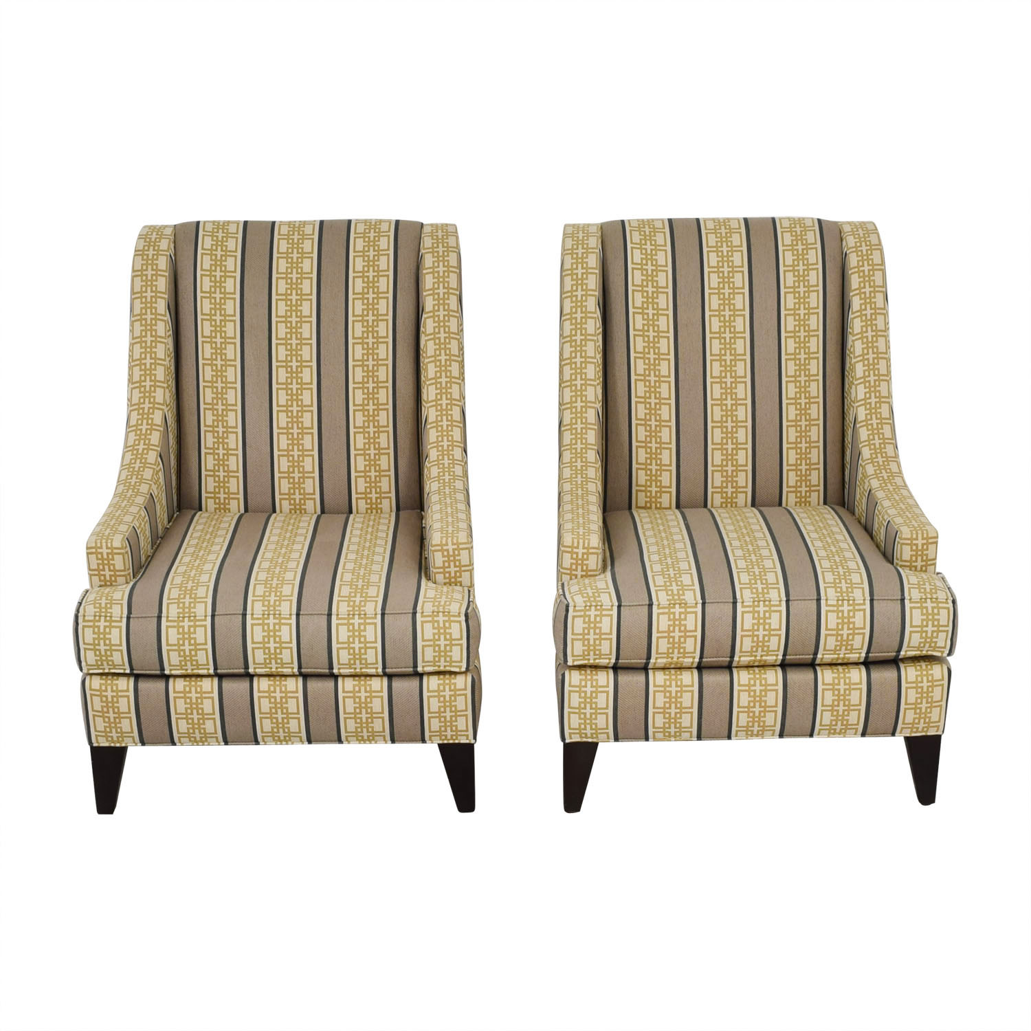 Multi Colored Accent Chairs 90 Off Ethan Allen Ethan Allen Emerson Multi Colored