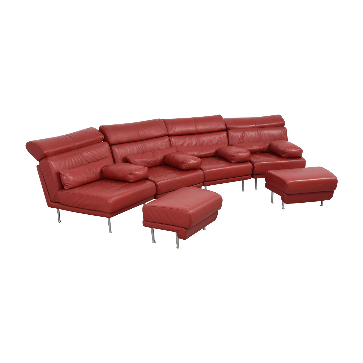 natuzzi arona 2 seater leather sofa bed emerald green ikea 90 off red sectional with two