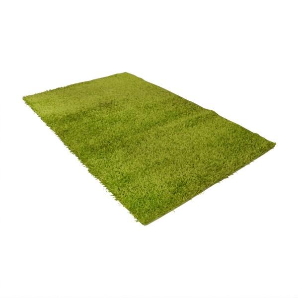 90 - Modani Lime Green Shag Rug Decor
