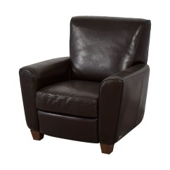 Natuzzi Lounge Chair Rocking Runners 79 Off Brown Leather Recliner Chairs