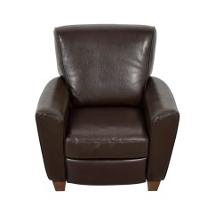 Natuzzi Lounge Chair Pvc Adirondack Chairs Canada 79 Off Brown Leather Recliner