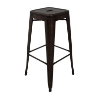 83% OFF - Tabouret-Style Industrial Rustic Distressed ...