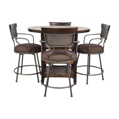 Ashley Furniture Kitchen Chairs Free Standing Dining Used For Sale