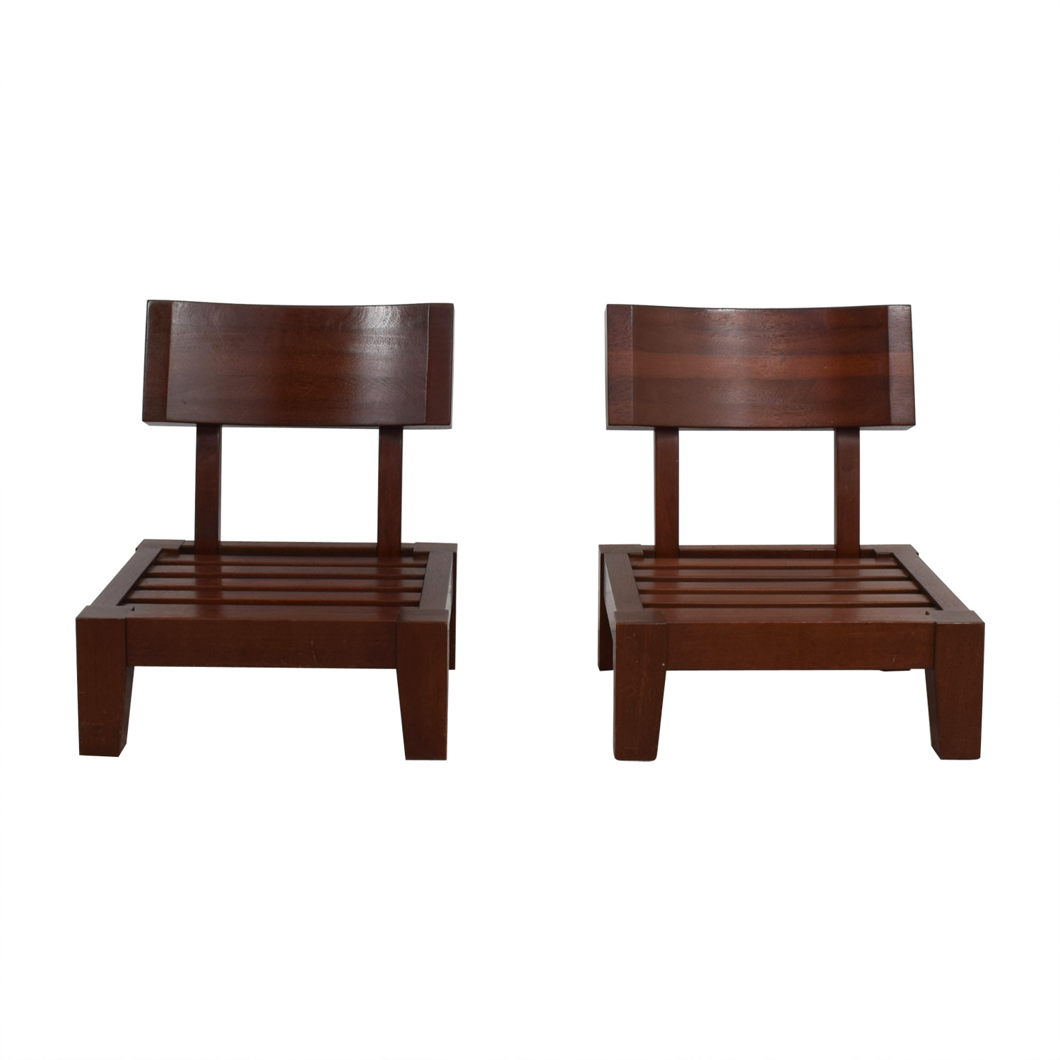 Sitting Chairs 87 Off Mahogany Wood Sitting Chairs Chairs