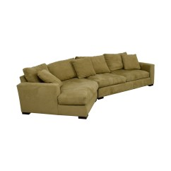 Room And Board Metro Sofa With Chaise Yellow Throws For Sofas 85 Off Beige