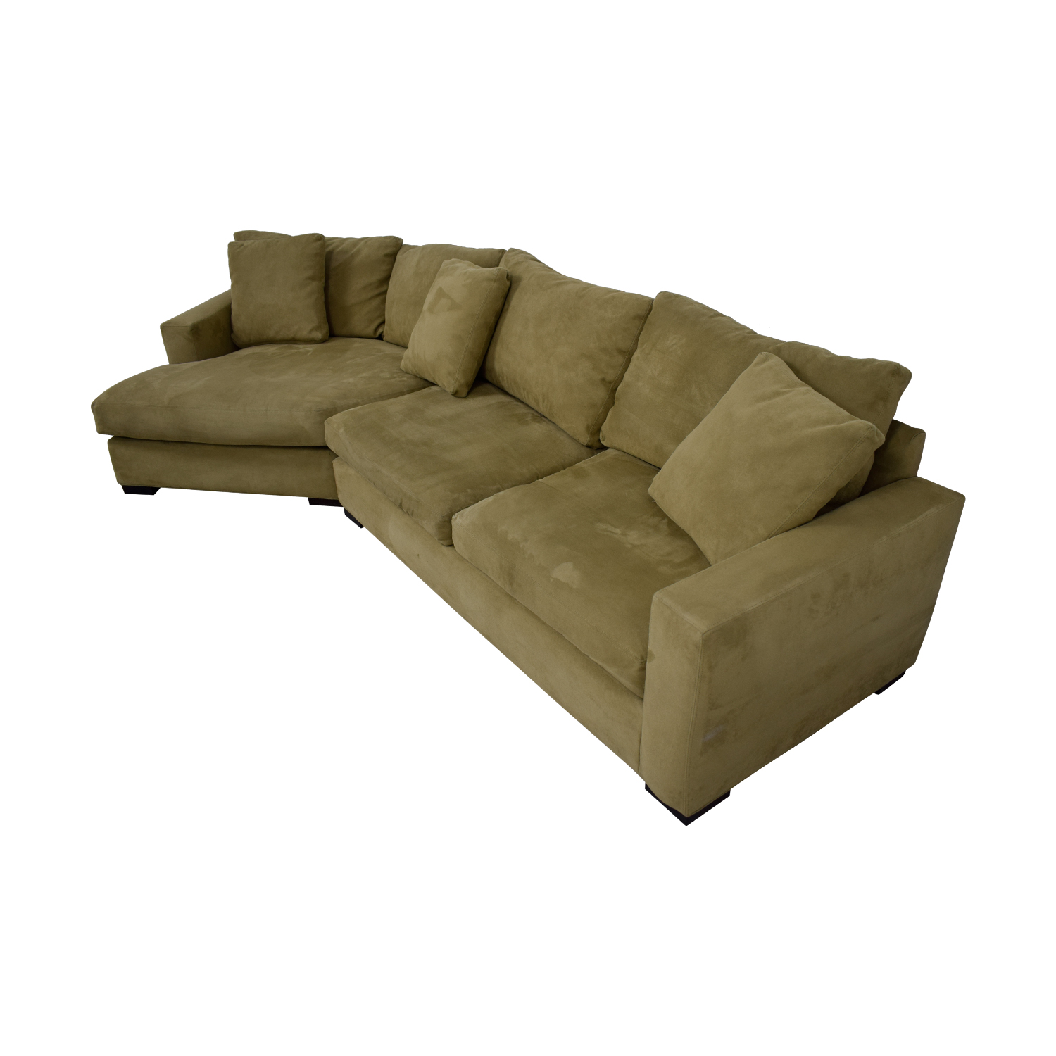 room and board metro sofa with chaise art rs 85 off beige