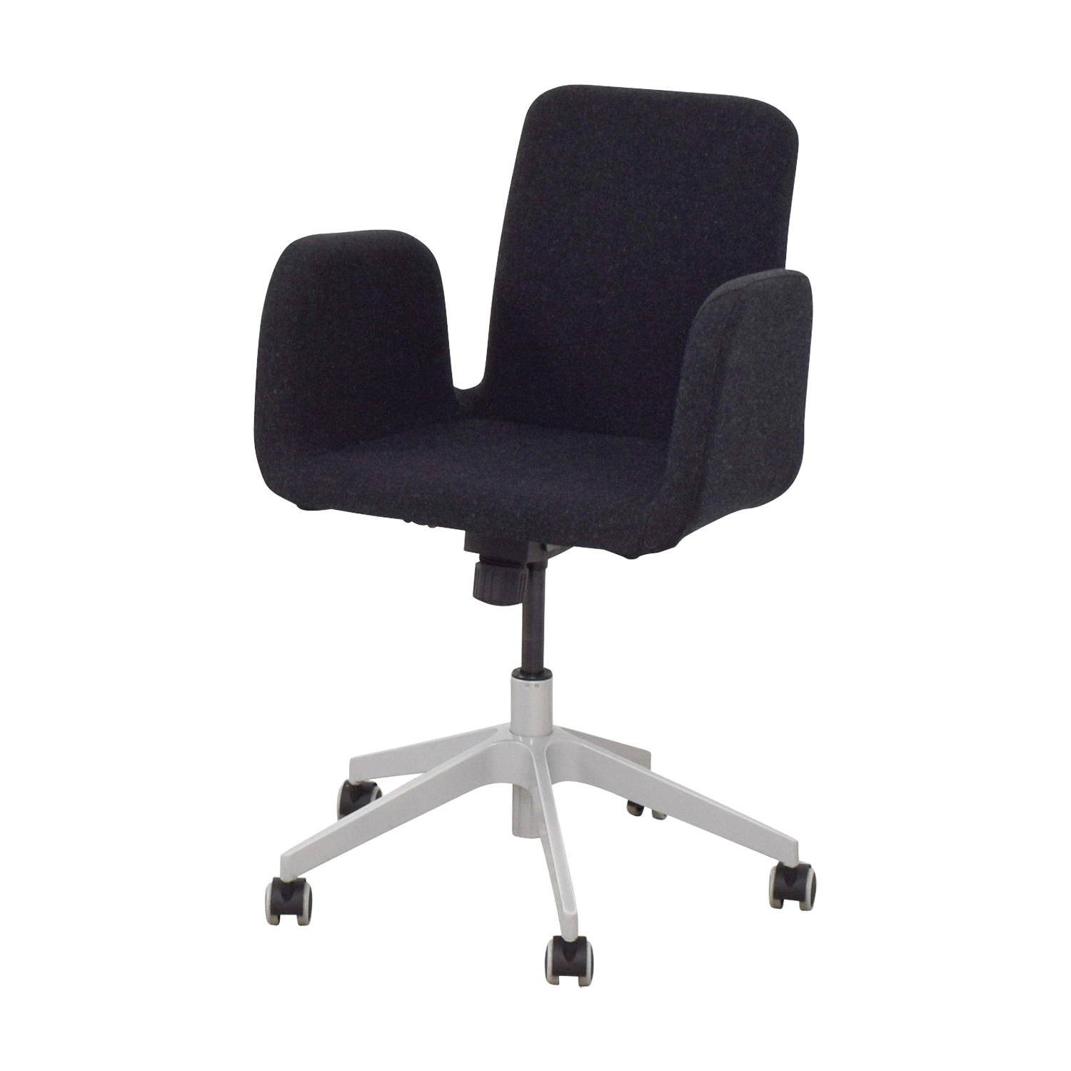 Black Desk Chair 61 Off Ikea Ikea Black Desk Chair Chairs