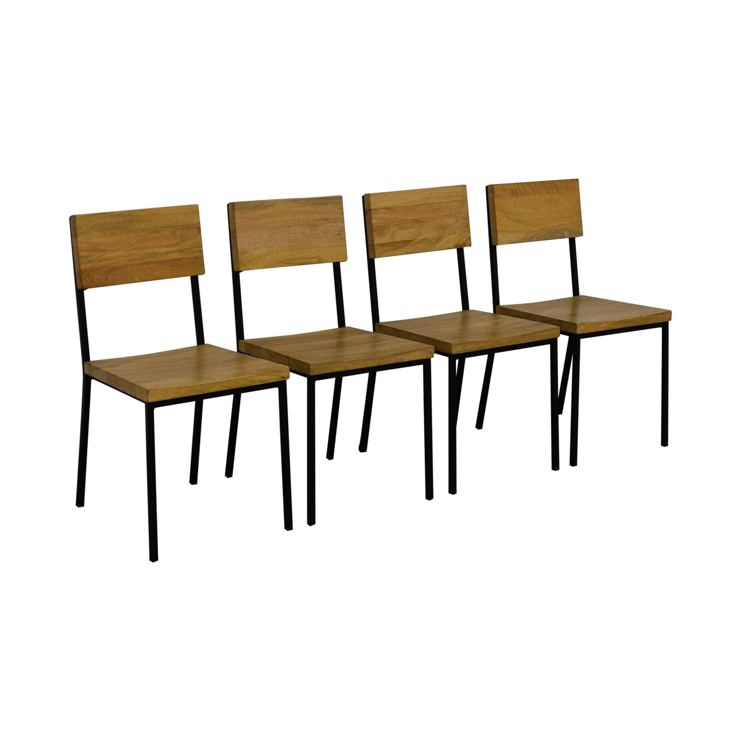 west elm chairs dining uchida japanese folding z chair 59 off rustic