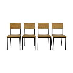 West Elm Chairs Dining Marshmallow Toddlers 59 Off Rustic