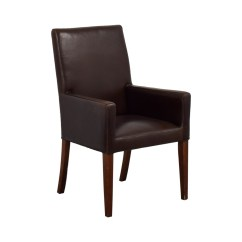 Leather Dining Chairs Pottery Barn Target Sling Chair 90 Off Brown