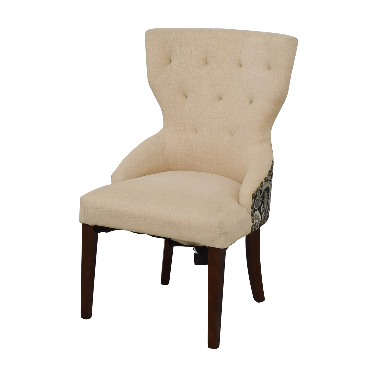 Used Wingback Chairs 68 Off World Market World Market Beige Wingback Accent