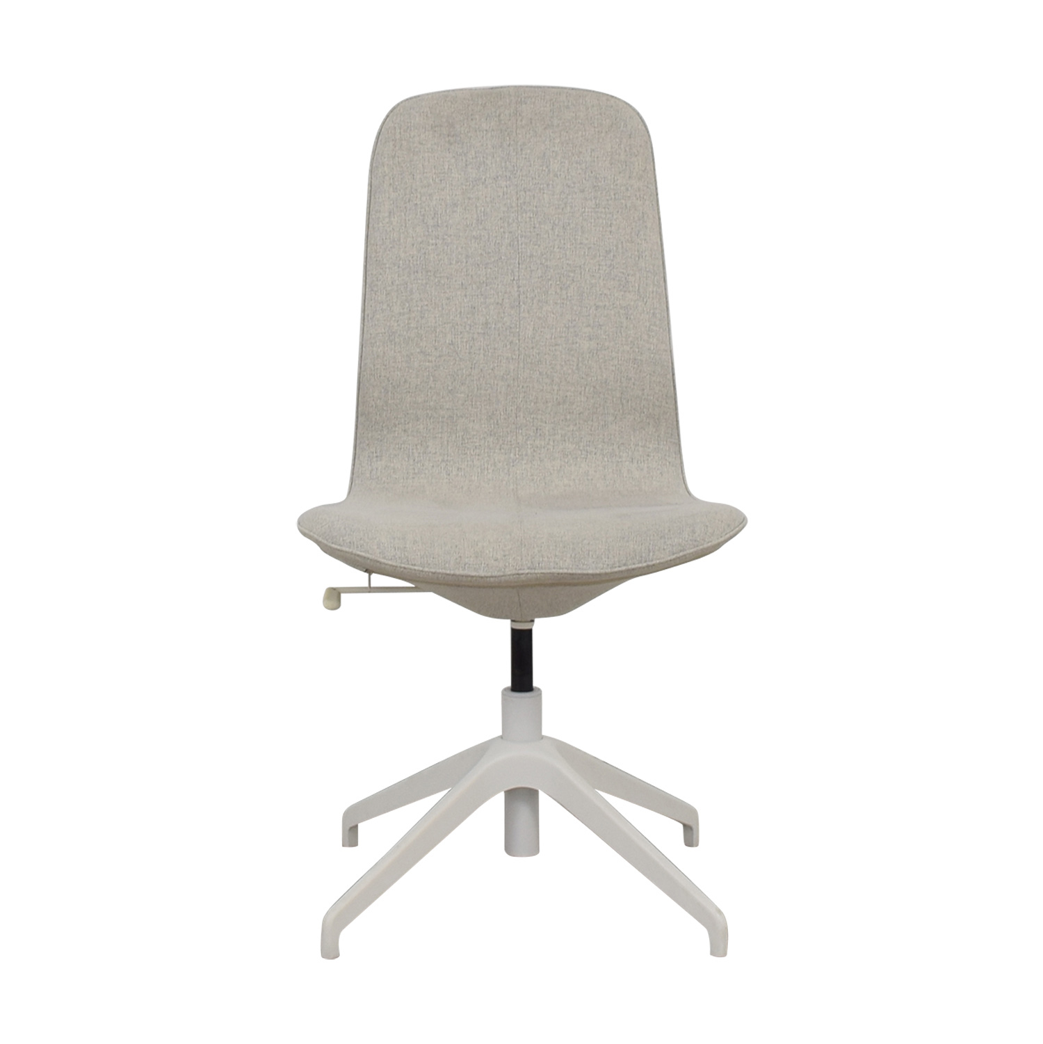 ikea swivel chair where to buy bean bag chairs 85 off langfjall grey shop online