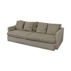Crate And Barrel Sofa Cushion Replacement Blue Sofas Sectionals 90 Off Cream Two