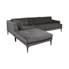 Interchangeable Sofa Foam Sofas Sleepers 44 Off West Elm Andes Ottoman