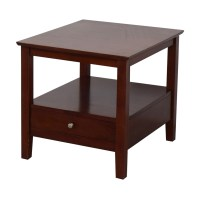 Solid Wood End Table - Frasesdeconquista.com