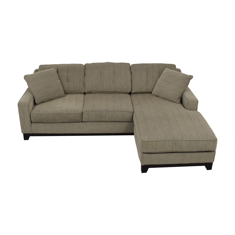 harper fabric 6 piece modular sectional sofa traditional slipcovers macys gray awesome home