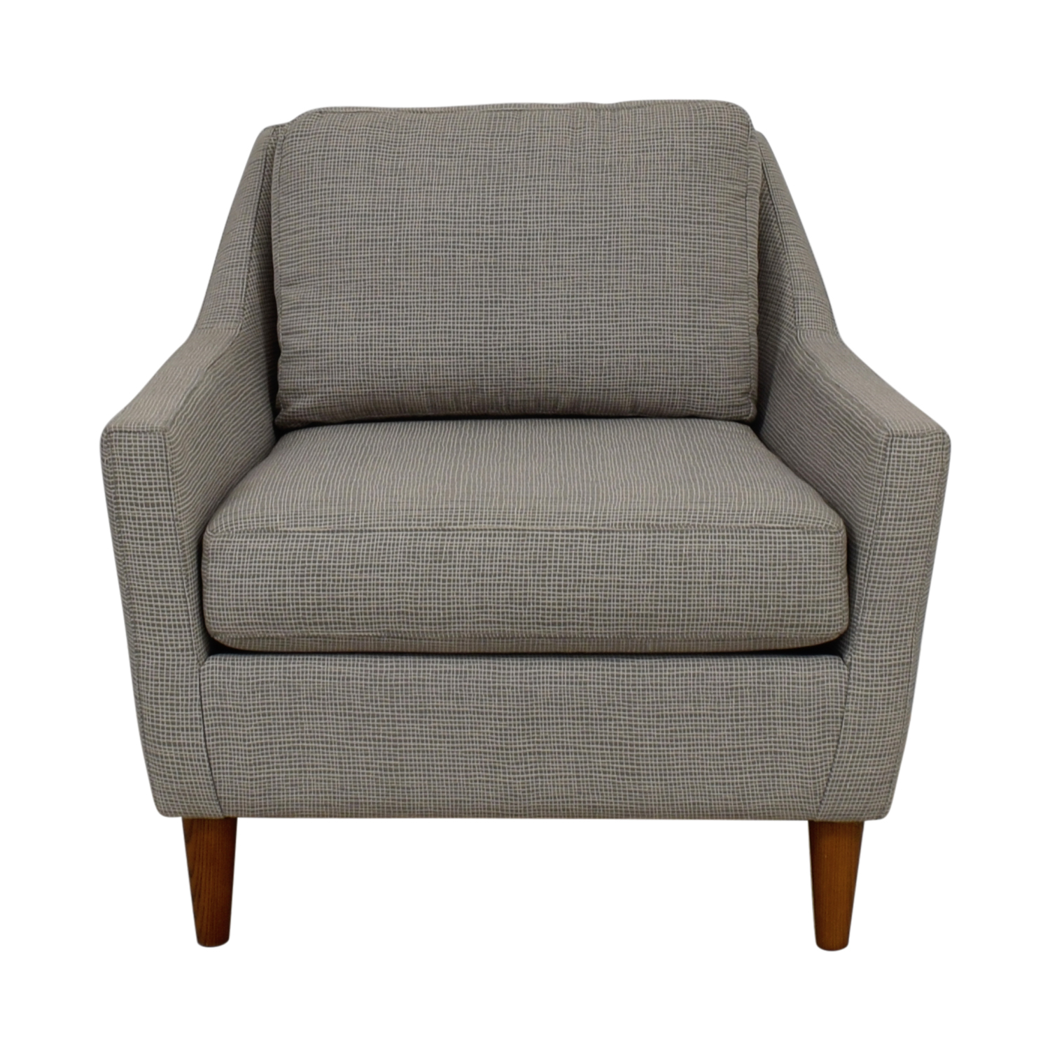west elm everett chair bedroom clothes 49 off grey accent chairs price