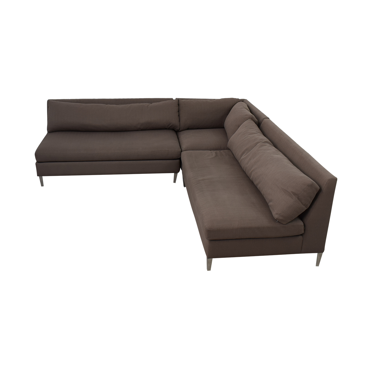 cb2 piazza sofa review small covers sectional home co