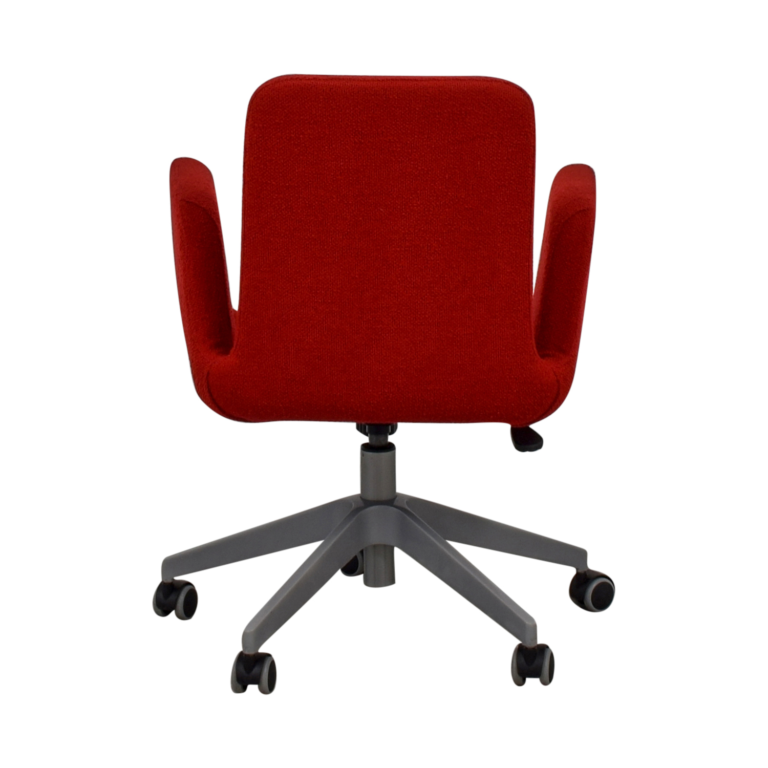 red desk chair ikea slipcover dining chairs on sale shop patrik rolling sofas