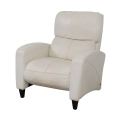 American Leather Chairs And Recliners Steel Z Chair 45 Off White Recliner Accent