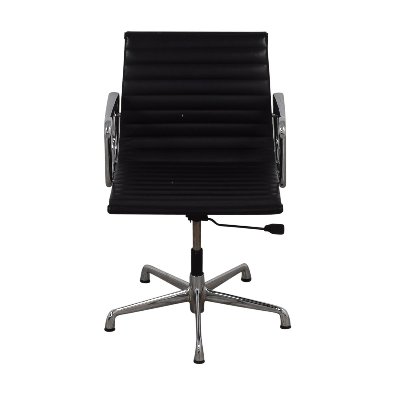 herman miller chair sale desk luxury 53 off eames aluminum black leather office on