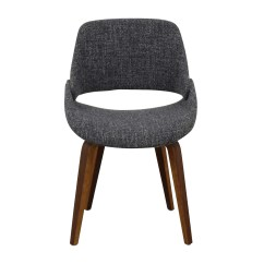 Gray Upholstered Dining Chairs Quinceanera Chair Rental 70 Off Allmodern Aird Grey Shop