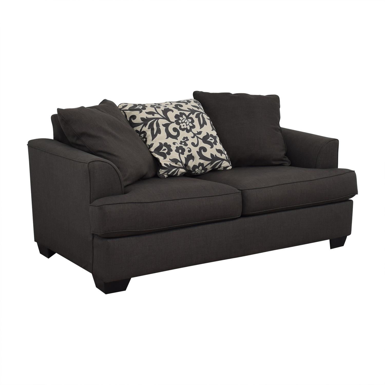 58 OFF  Ashley Furniture Ashley Furniture Dark Grey Sofa
