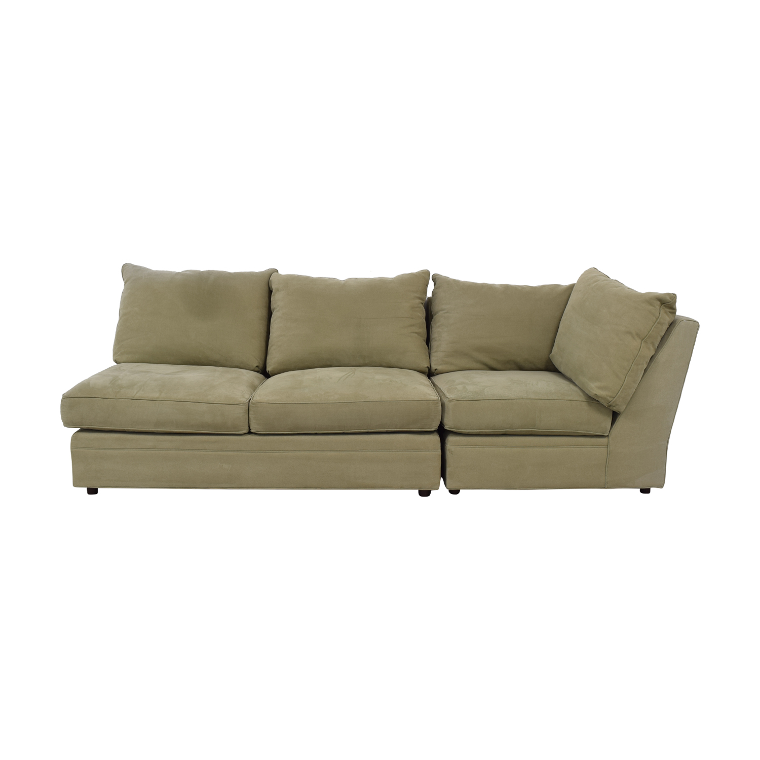 sofa arm buy bed online uk 69 off macy s beige right facing two piece sofas sectionals