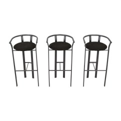 Stool Chair Second Hand High 61 Off Gray Bar Stools Chairs