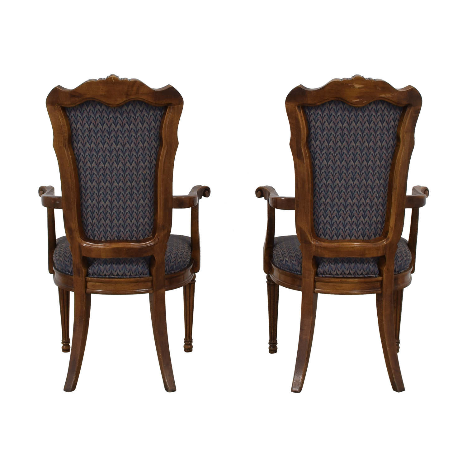 Multi Colored Accent Chairs 74 Off Multi Colored Navy Armchairs Chairs