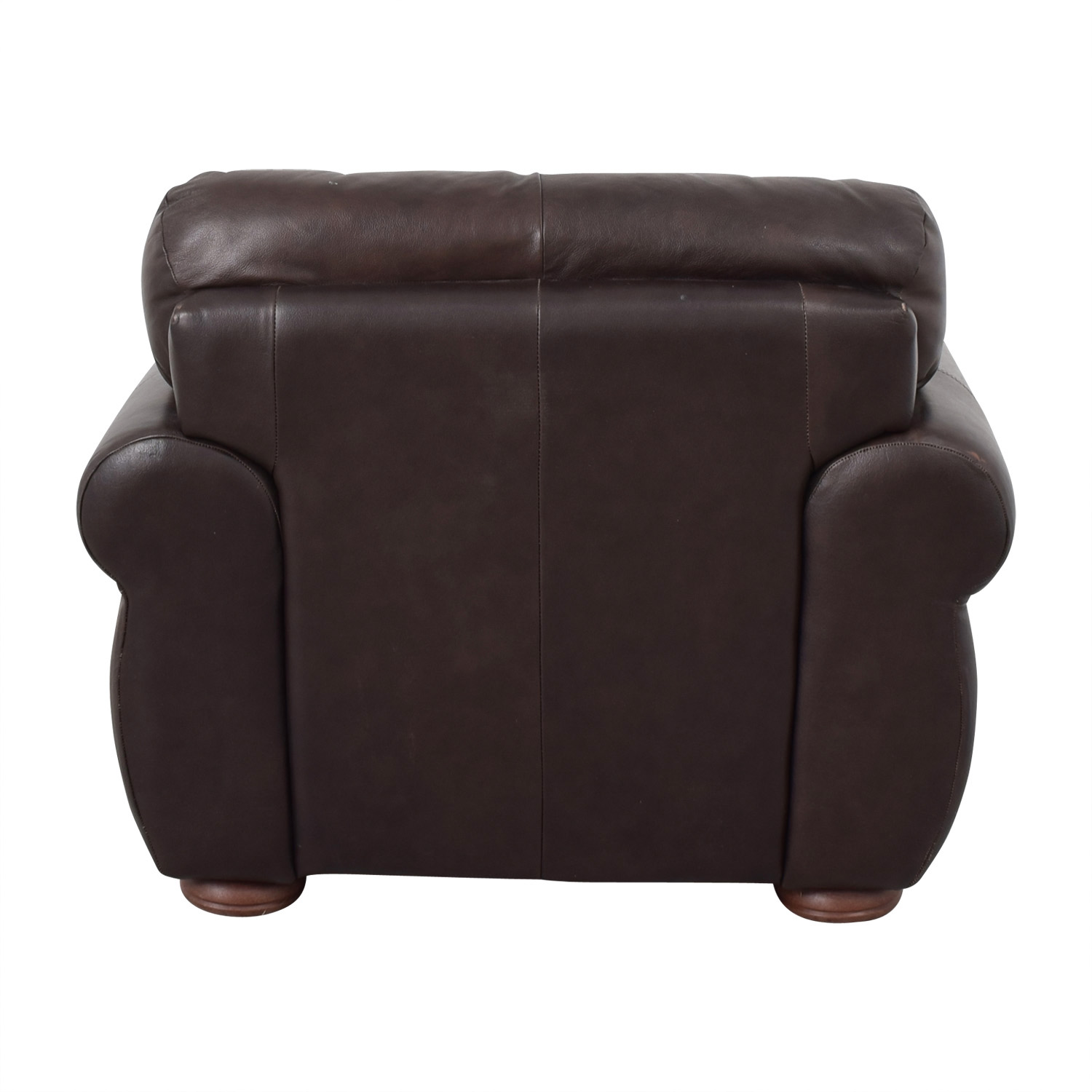 brown accent chairs bone collector chair 48 off jennifer convertibles convertible armchair raymour flanigan and ottoman