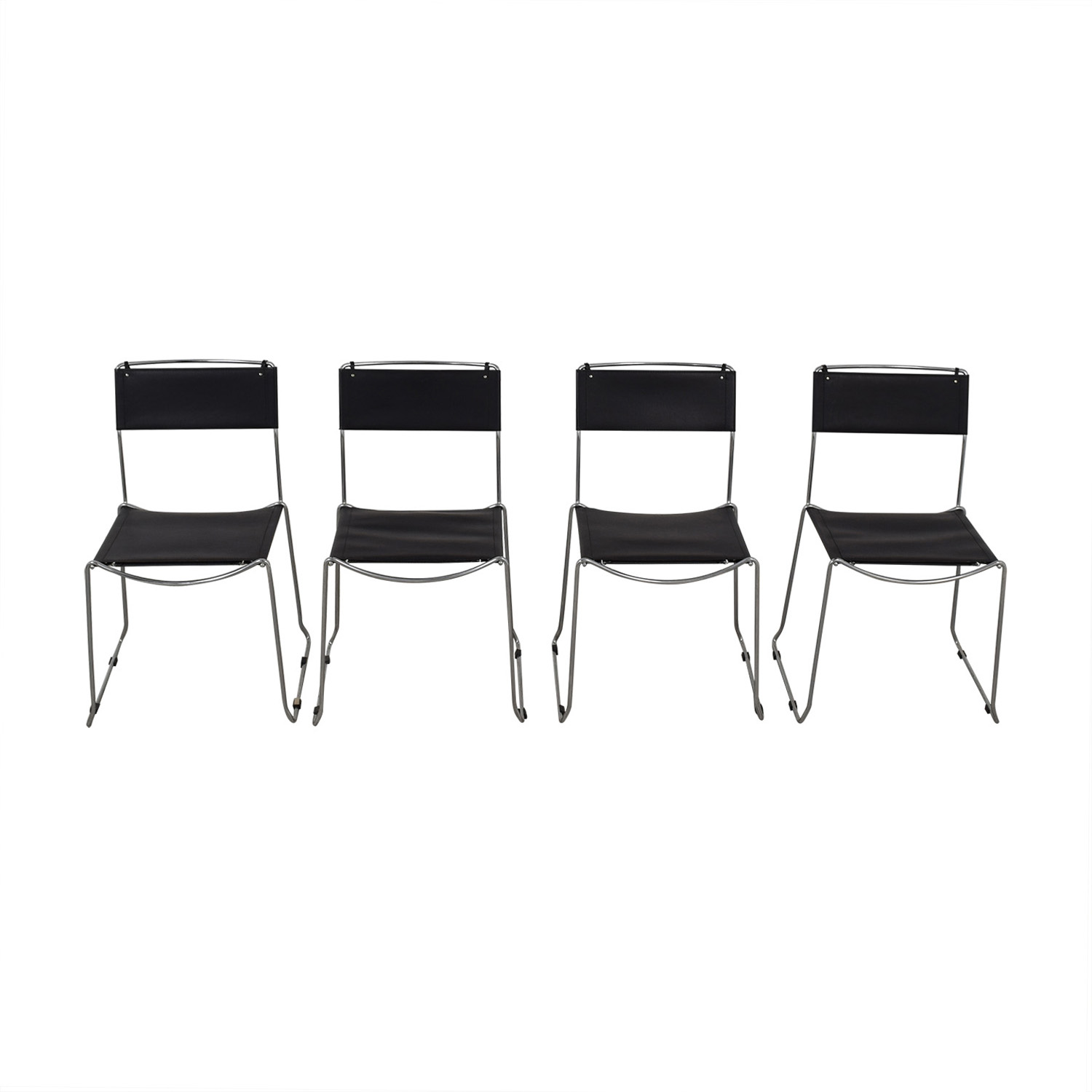 chair design within reach the comfortable store 57 off black stacking chairs