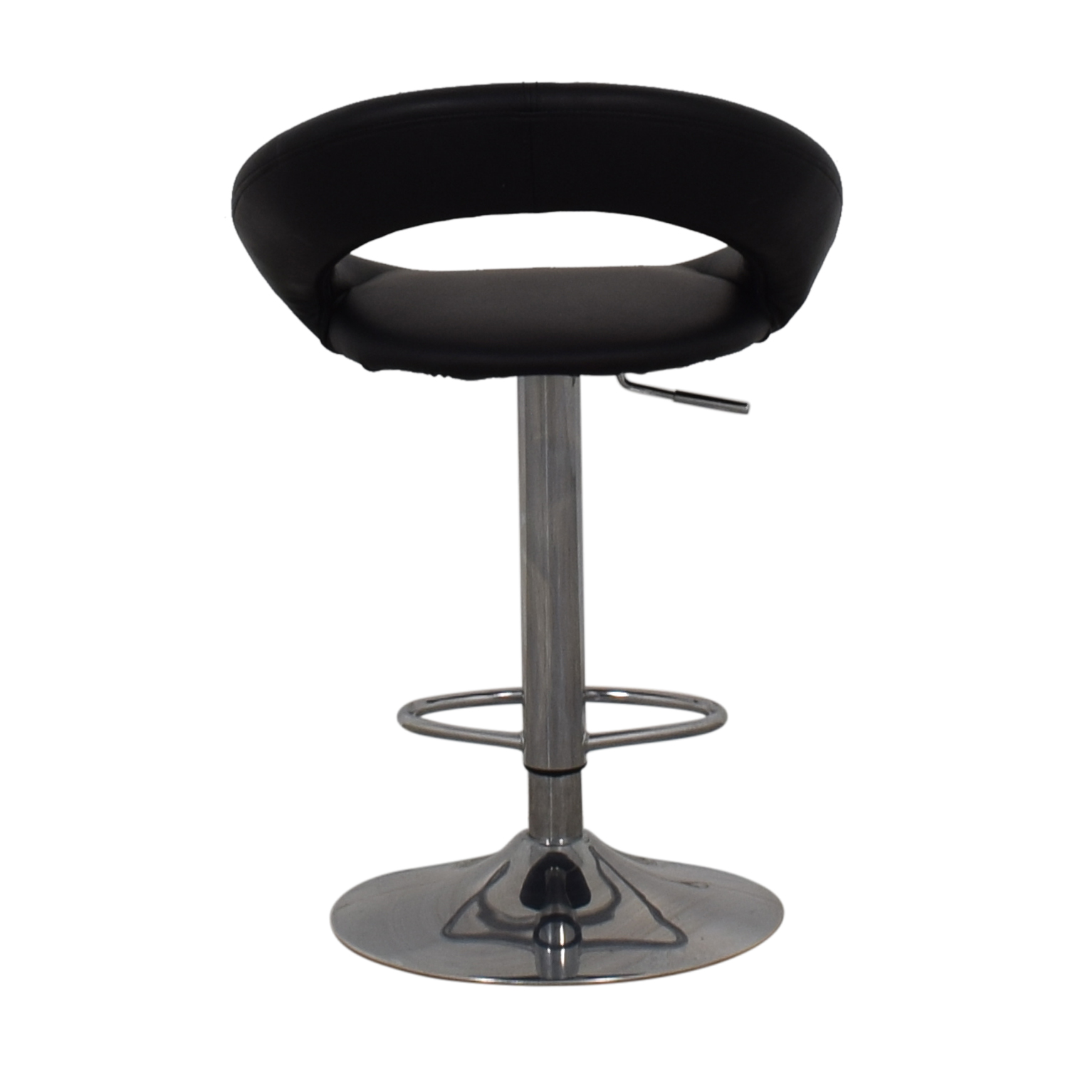 chair stool black dining room covers made to order 63 off lumisource kathleen bar chairs for sale