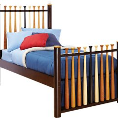 Living Room Rug Size Guide Best Furniture Reviews Batter Up Cherry 3 Pc Twin Baseball Bed - Slat