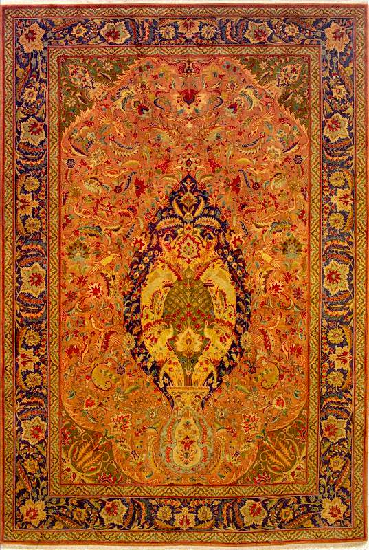 living room rug size guide home decor wall antique floral medallion persian tabriz rugs & carpets