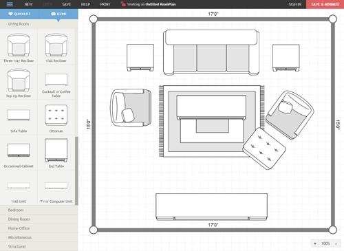 Room Planner  Rifes Home Furniture  Eugene Springfield