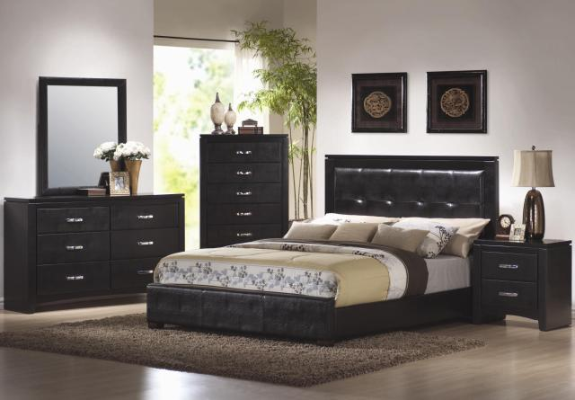 Cal King Bedroom Furniture Set Traditional California