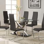 Modern Dining 100515 By Coaster Pedigo Furniture Coaster Modern Dining Dealer